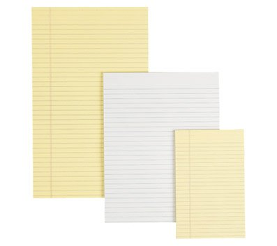 OfficeMax Gummed Pad, 8-1/2