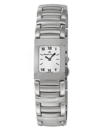 Amazon.com: Maurice Lacroix Miros Womens Quartz Watch MI2012-SS002-110: Watches