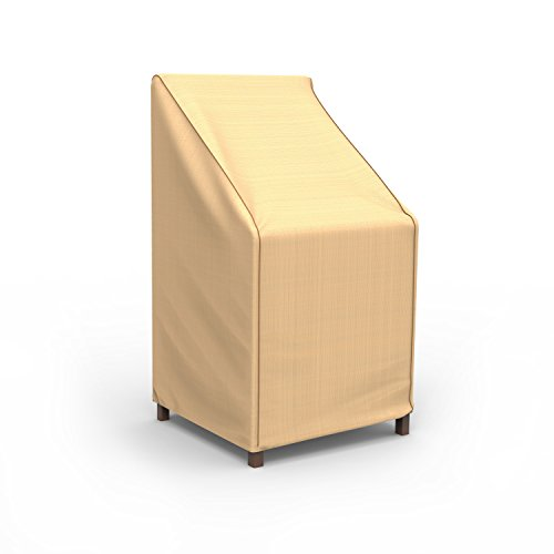 Budge Chelsea Patio Stack of Chairs Cover / Barstool Cover (Tan)