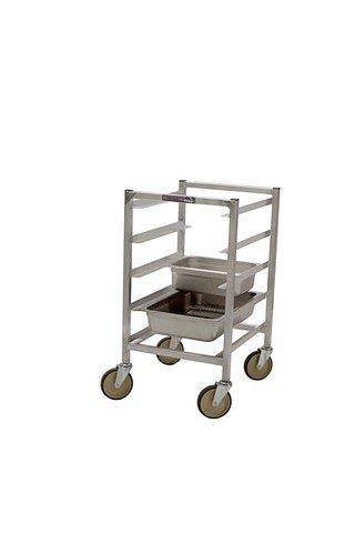 20 Steam Table Pan Rack - PVIFS WE5020KD-4-SP Knock-Down Steam Table Pan Rack, Half Size 4 Pan Capacity, 20