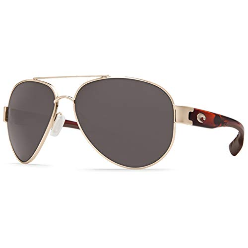 Costa Del Mar Costa Del Mar SO84OGP250 South Point Gray 580P C-Mate 2.50 Rose Gold w/Light Tort Temples Frame South Point, Rose Gold w/Light Tort Temples Frame, Gray 580P C-Mate 2.50