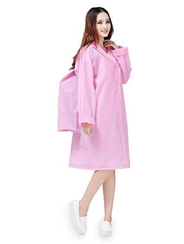 Adhésif Stockage 2 Pluie Couverture Poncho Réutilisable Rosa Jeune Imperméable Avec Sac De Et TqvTrw7