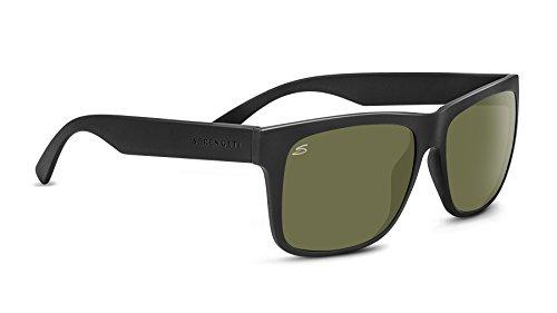 - Serengeti Positano Polarized Sunglasses, Satin Black