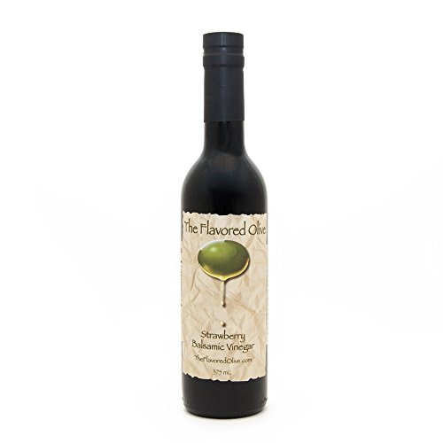 Strawberry Aged Balsamic Vinegar, Made In Italy (Delivery Same Day Cakes)