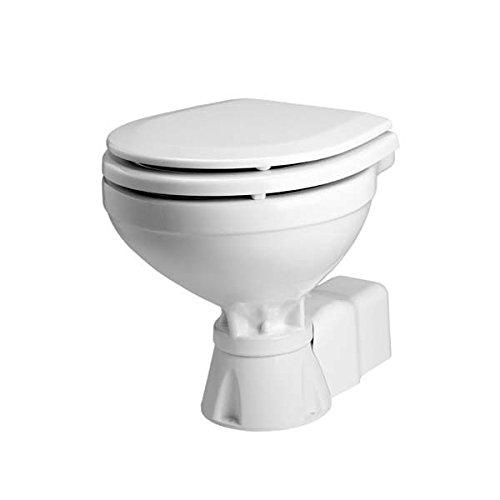 Johnson Pumps 80-47231-01 AquaT Compact Silent Electric Marine Toilet, 12V