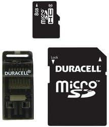 Duracell 8 GB Clase 8 Tarjeta microSD con adaptador universal ...