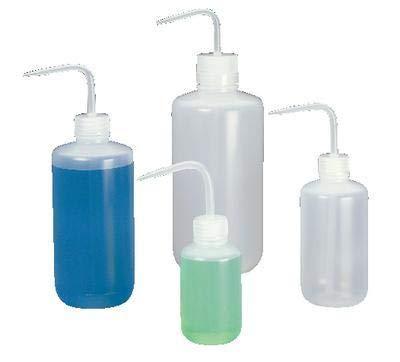 2401-0500 - Nalgene Economy Wash Bottles, Low-Density Polyethylene, Narrow Mouth, Thermo Scientific - Capacity : 500 mL (16.9 oz.) - Case of 24