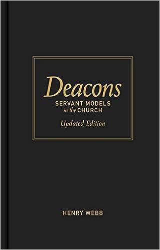 Amazon com: Deacons: Servant Models in the Church