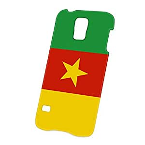 Case Fun Samsung Galaxy S5 (i9600) Case - Ultra Slim Version - Full Wrap Edge to Edge Print - Flag of Cameroon