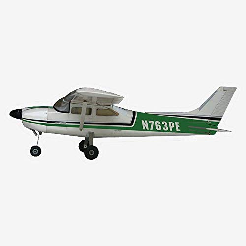 VMAR Cessna 182 Skylane 63.5 Wingspan (ARF) Plane Kit-Green - Using The Materials and Components