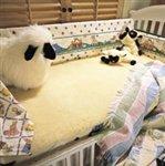 SnugSoft Wool Mattress Cover – Imperial 1 1/4 inch pile – Crib, Baby & Kids Zone
