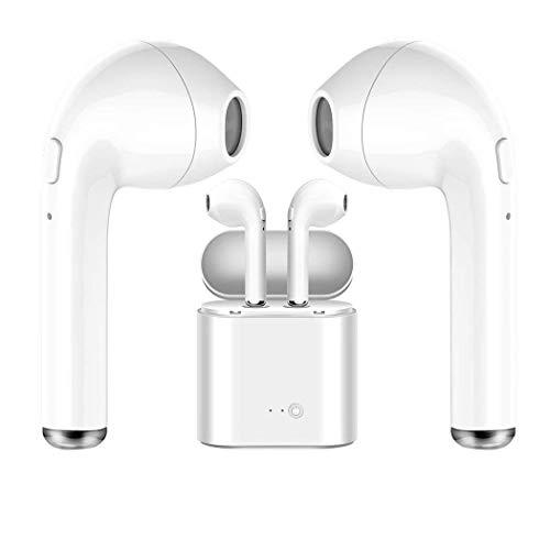 Auriculares Bluetooth, Auriculares inalámbricos Auriculares Auriculares Deportivos, Auriculares estéreo con micrófono, Compatible con iPhone x 8 8 Plus y ...