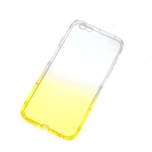 Funda Doble para iPhone 6s, Vandot Bling Brillo Carcasa Protectora 360 Grados Full Body   TPU en Transparente Ultra Slim Case Cover   Protección Completa Delantera y Trasera Cocha Smartphone Móvil Acc JBTPU 05