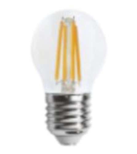 Alverlamp LSFI0427 - Lámpara led esférica filamento 4w e27 2700k: Amazon.es: Bricolaje y herramientas