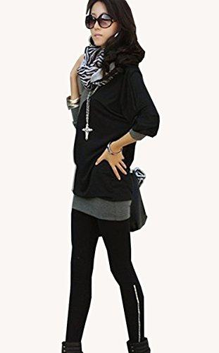 Mississhop, hergestellt in EU - Camisas - Básico - para mujer Hellmelange-Graphit