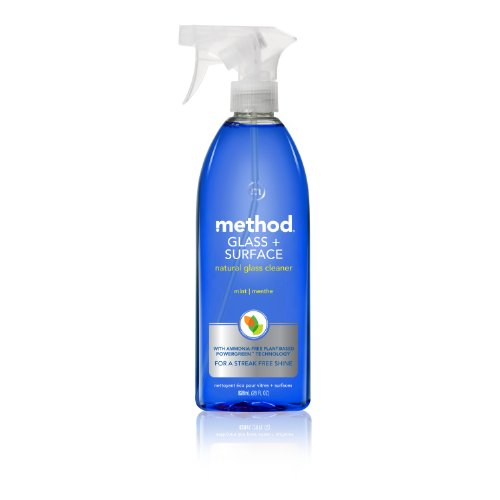 Method Glass and Surface Cleaner, Mint, 28 Ounce (Pack of 4) ()