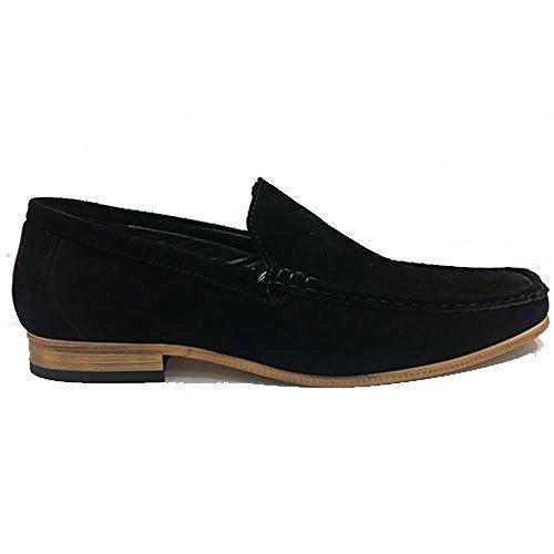 london fashion Mocassini Uomo, Nero (Black), 40