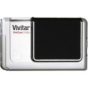 5 Vivitar Megapixels Vivicam - VIVICAM-5160S 5.0MP 4X OPTICAL ZOOM DIGITAL CAMERA