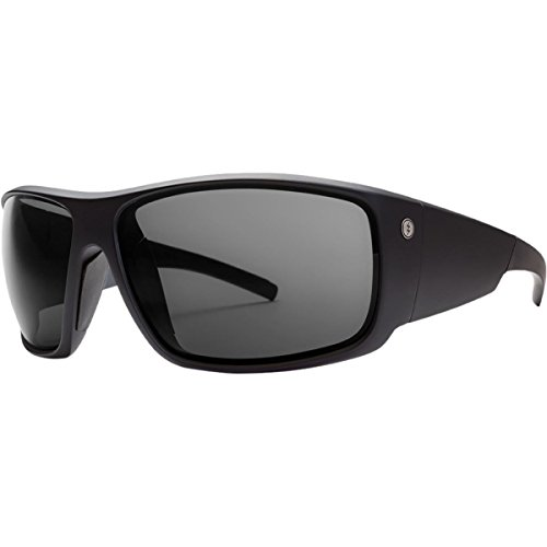 Electric Backbone S Sunglasses - Matte Black Frame - OHM Polarized Gray - Backbone Electric Sunglasses