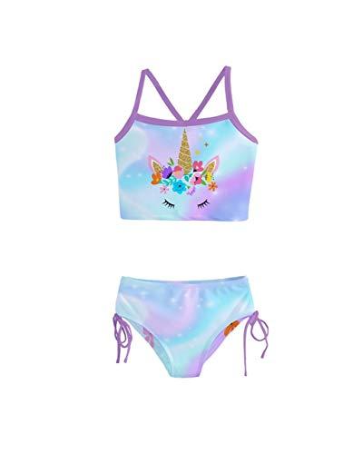 Suit Galaxy - PattyCandy Fun Space Galaxy Unicorn Girls Tankini Swimsuit - 8