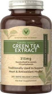 Green Tea Extract 315mg 200 count