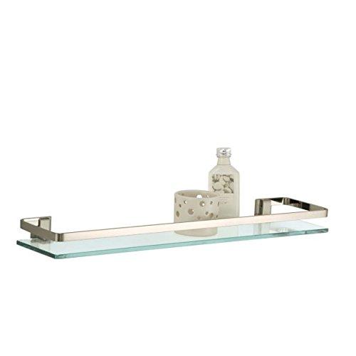 23 5 Glass Shelf Nickel Rail product image