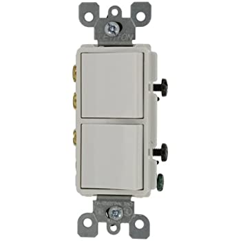 leviton 5643 w 15 amp 120 277 volt decora brand style 3 way 3 leviton 5640 w 20 amp 120 277 volt decora 3 way 3 way ac combination switch commercial grade grounding white
