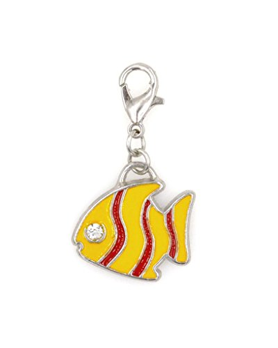 2-pc-set-stainless-steel-starter-charm-bracelet-and-clip-on-charm-yellow-purple-enamel-fish-75-95-ad