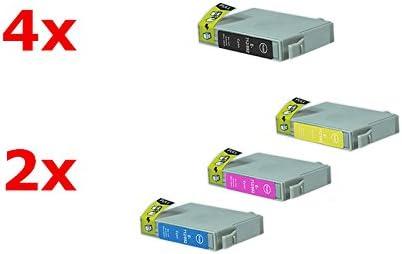 Compatible con Epson Stylus DX 7400 tintas conjunto negro, cian ...