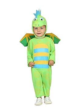 DISBACANAL Disfraz de dragón para bebé - Único, 12-24 Meses ...