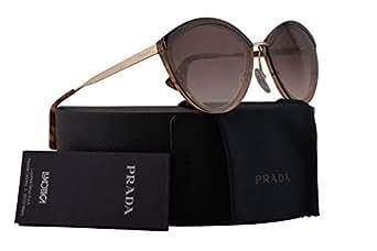 Amazon.com: Prada pr07us anteojos de sol café antiguo rosa w ...