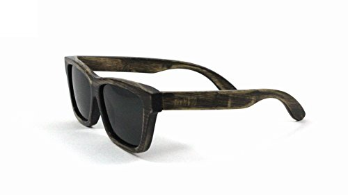 RawWood Cruisers Charcoal/Smoke Polarized Bamboo Wood - Are Sunglasses By Company Made The Same