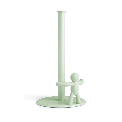Umbra Buddy Paper Towel Holder, the Original Fun and Functional Soft-Touch Design, Mint ()