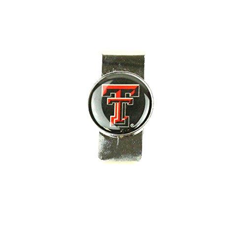 aminco NCAA Texas Tech Red Raiders Domed Money Clip