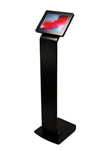 Tablet Floor Stand, CTA Digital Premium Locking Floor Stand Kiosk for iPad 10.2-Inch (7th Gen.), 11-Inch iPad Pro/iPad Air 3/iPad Gen. 5-6/iPad Pro 10.5/Galaxy Tab A 9.7'/ S2 9.7'/ 3 10.1'/ 4 10.1'