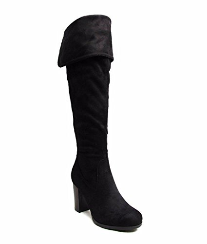 Noir Pour Shelikes Shelikes Bottes Femme Bottes Pour Femme Shelikes Pour Noir Femme Bottes OwZSqYg