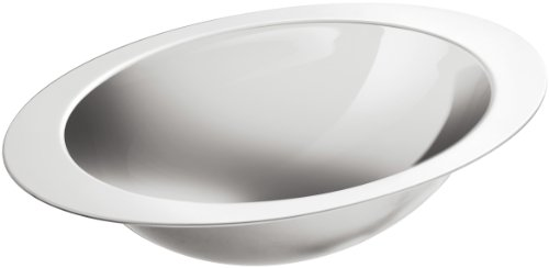 KOHLER K-2602-MU-NA Rhythm Elliptical Undercounter Bathroom Sink with Mirror Finish, Not Applicable