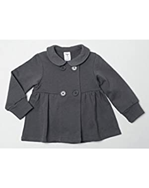 Terry Bodice Jacket, Gray