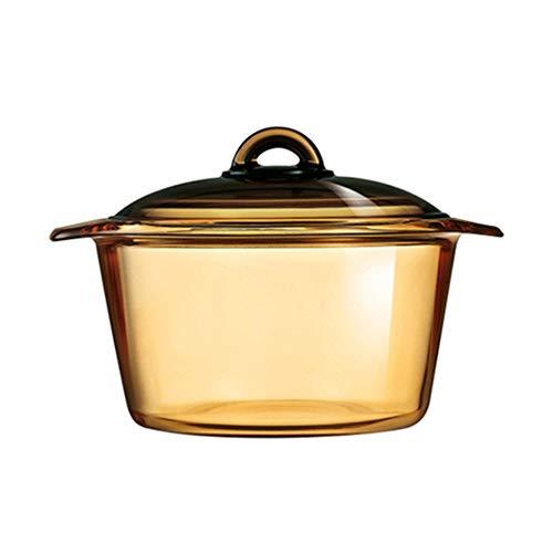 Luminarc Vitro Blooming Heat-resistant Glass Cooking Pot (5L)