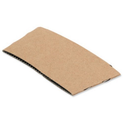 Medium 9oz Paper Cup Sleeve - 3 x 100's Kraft