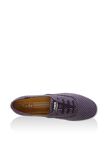 Keds Triple Micro Dot Sneaker Plateau lila, Groesse:41.0