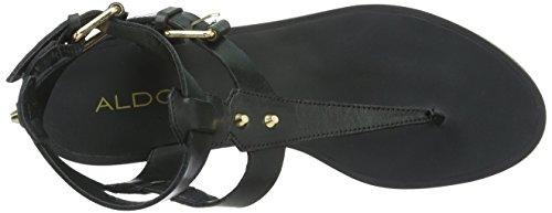 ALDO Damen Abbigaelle T-Spange Schwarz (Black Leather / 97)