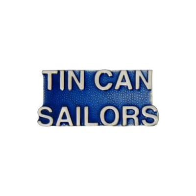 Cheap Tin Can Sailors Lapel Pin or Hat Pin hot sale