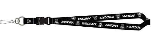 - Arizona Wildcats PSG Blackout Premium Lanyard 2-Sided Keychain University of