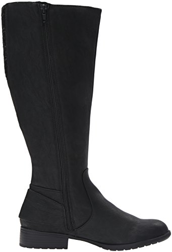 Boot Xandywc Black Riding LifeStride Wide Calf Women's qC5n1nt
