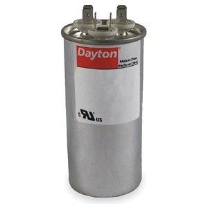 DAYTON 2MEJ5 Motor Run Capacitor, 35/5 MFD, 440V, Round