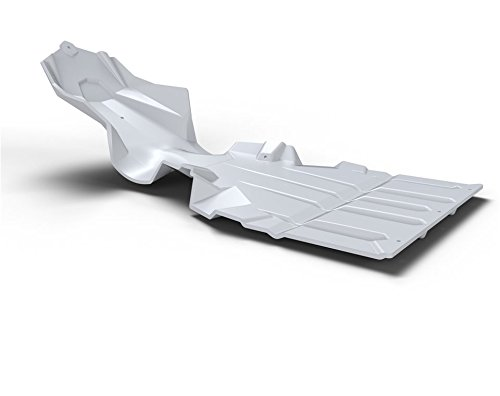 Axys® Ultimate Snowmobile Skid Plate - White By Polaris (Snowmobile Skid Plates)