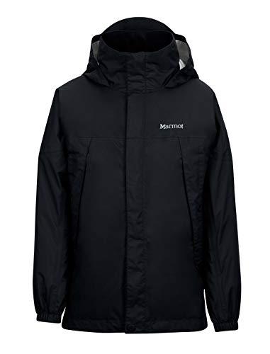 - Marmot PreCip Boys' Lightweight Waterproof Rain Jacket, Black, X-Small
