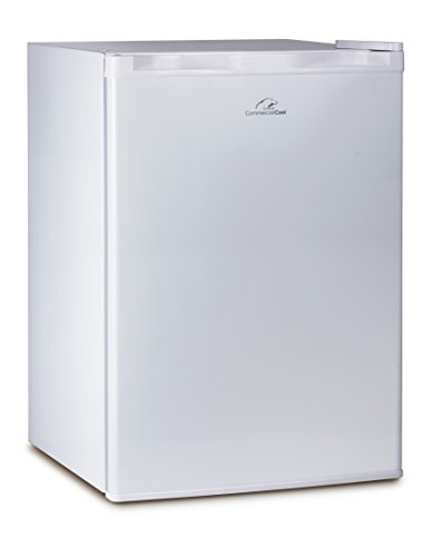 Commercial Cool CCR26W Compact Single Door Refrigerator and Freezer