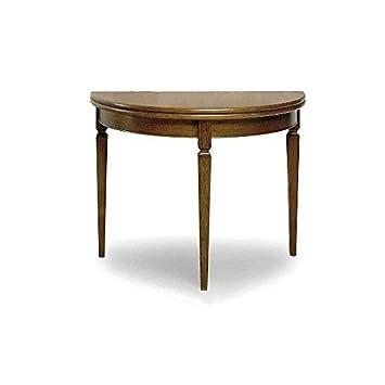 Esteamobili Table Console Extensible Bois Massif Comme Photos Bois